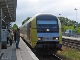 Siemens Dispolok | NOB | ER20 008 | Klanxbüll | 31.07.2007 | (c) Uli Kutting