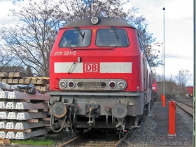 DB | 225 021-5 | Bischofsheim | 25.01.2007 | (c) Uli Kutting