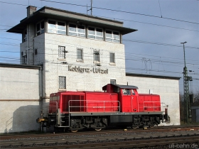 DB | 294 589-7 | Koblenz-Lützel | 15.12.2009 | (c) Uli Kutting