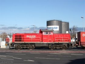 DB | 294 817-2 | Mainz / Hafen | 15.02.2007 | (c) Uli Kutting