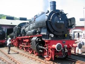 DB | 38 1772 | Südwestfälisches Eisenbahnmuseum Siegen | 12.08.2007 | (c) Uli Kutting
