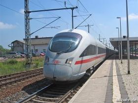"DB AG | 411 031-8 | ICE 1502 |  ""Trier"" | Gotha Hbf  | 1.07.2006 | (c) Uli Kutting"