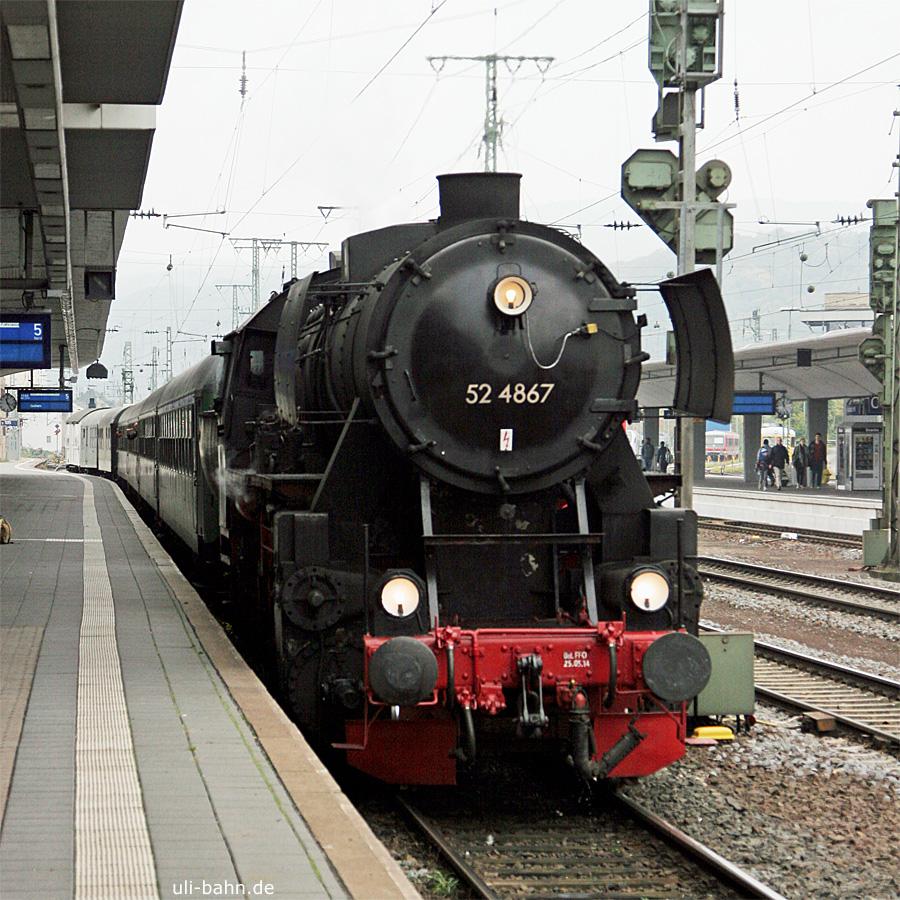 HEF | 52 4867 | Koblenz Hbf | 18.10.2015 | (c) Uli Kutting