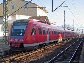 DB AG | 612 023-2 | Gotha Hbf | 26.12.2006 | (c) Uli Kutting