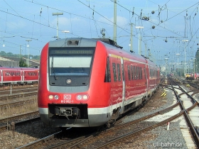 DB AG | 612 052-1 | Mainz Hbf | 23.08.2006 | (c) Uli Kutting