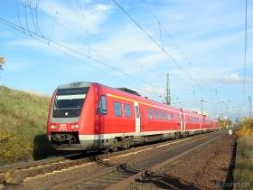 DB AG | 612 121-4 | Gau-Algesheim | 15.11.2006 | (c) Uli Kutting