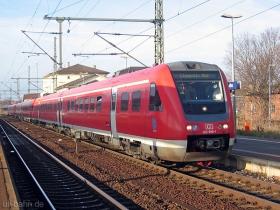 DB AG | 612 599-1 | Gotha Hbf | 2.12.2006 | (c) Uli Kutting
