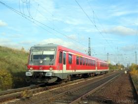 DB | 628 466-2 | Gau-Algesheim | 15.11.2006 | (c) Uli Kutting