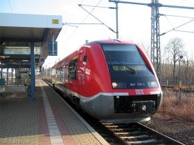 DB AG | 641 021-1 | Gotha Hbf | 2.12.2006 | (c) Uli Kutting