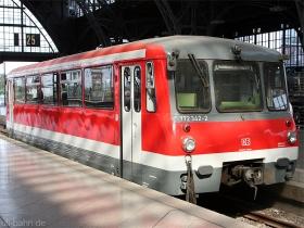 DB | 772 342-2 | Leipzig | 23.08.2008 | (c) Uli Kutting