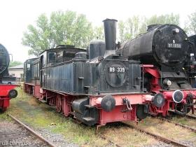 DB | 89 339 | Eisenbahnmuseum Darmstadt-Kranichstein | 17.09.2006 | (c) Uli Kutting