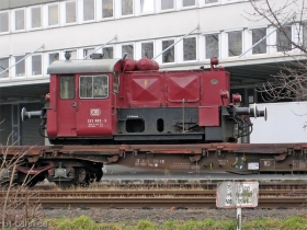 DB | 323 602-3 | Wiesbaden (InfraServ) | 17.01.2008 | (c) Uli Kutting