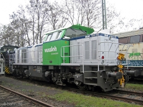 Vossloh | G1000BB  - 1001322-2002 | aka 261 332-1 | Bischofsheim | 6.12.2006 | (c) Uli Kutting