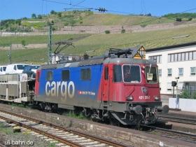 SBB cargo | Re 421 375-7 | Rüdesheim | 11.05.2006 | (c) Uli Kutting