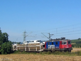 SBB cargo | Re 421 375-7 | Walluf | 10.08.2006 | (c) Uli Kutting