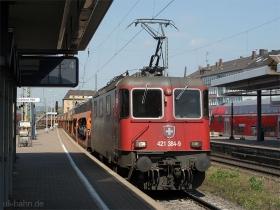 SBB cargo | Re 421 384-9 | Koblenz Hbf | 23.04.2006 | (c) Uli Kutting