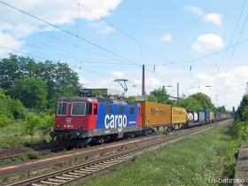 SBB cargo | Re 421 387-2 | Wiesbaden Schierstein | 3.08.2006 | (c) Uli Kutting