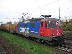 SBB cargo | Re 421 389-8 | Wiesbaden Schierstein | 20.11.2006 | (c) Uli Kutting