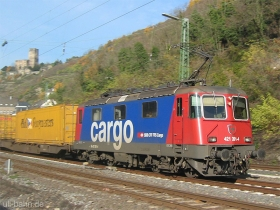 SBB cargo | Re 421 391-4 | Kaub | 16.11.2006 | (c) Uli Kutting