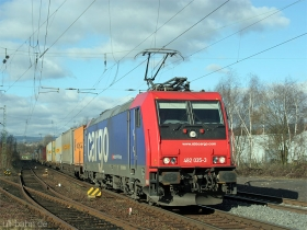 SBB cargo | Re 482 035-3 | Wiesbaden-Biebrich | 15.02.2007 | (c) Uli Kutting
