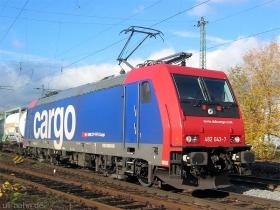 SBB cargo | Re 482 043-7 | Wiesbaden-Biebrich | 22.11.2006 | (c) Uli Kutting