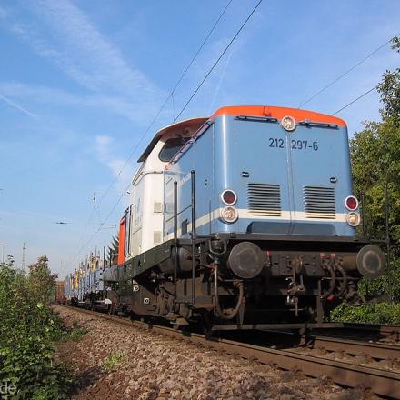NBE | 212 297-6 | Mainz Kostheim | 14.09.2006 | (c) Uli Kutting