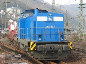Pressnitztalbahn | 204 016-3 | Bingen Hbf | 26.01.2007 | (c) Uli Kutting