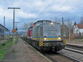 Stock Transport | 203 506-1 | (ex DR 112 661-6) | Wiesbaden-Biebrich | 5.12.2006 | (c) Uli Kutting