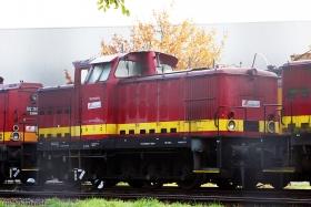 Gleiskraft | Beerwalde | ex Wismut V60 08 | Wiesbaden Biebrich (InfraServ) | 31.10.2011 | (c) Uli Kutting