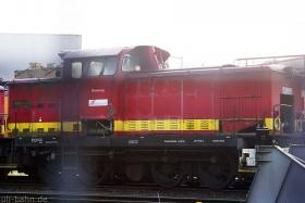Gleiskraft | Ronneburg | ex Wismut V60 09 | Wiesbaden Biebrich (InfraServ) | 31.10.2011 | (c) Uli Kutting
