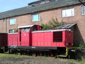 Angelner Dampfeisenbahn | Lok 2 | Kappeln | 2.08.2007 | (c) Uli Kutting