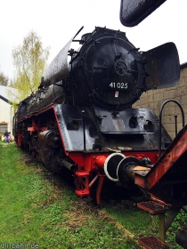 DR | 41 025 | Dampflokmuseum Hermeskeil | 3.05.2015 | (c) Uli Kutting