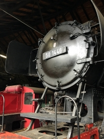 DR | 50 1446 | Dampflokmuseum Hermeskeil | 3.05.2015 | (c) Uli Kutting