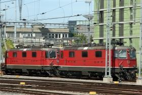 SBB | Re 4/4 II 11147 | Re 4/4 II 11226 | Morges (CH) | 28.05.2011 | (c) Uli Kutting
