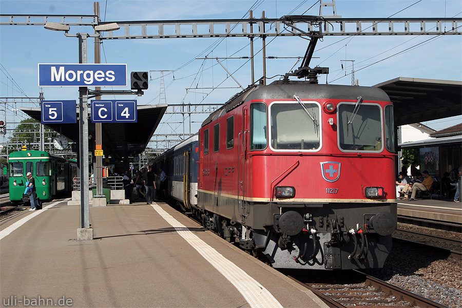 SBB | Re 4/4 II 11217 | Morges (CH) | 28.05.2011 | (c) Uli Kutting
