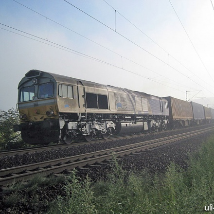 ERS | Class 66 | 6601 | Gau-Algesheim | 21.09.2006 | (c) Uli Kutting