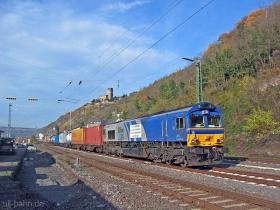 ERS | Class 66 | 6601 | Kaub | 16.11.2006 | (c) Uli Kutting