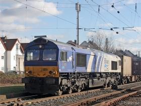 ERS | Class 66 | 6604 | Wiesbaden Biebrich | 15.02.2007 | (c) Uli Kutting