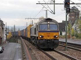 ERS | Class 66 | 6607 | Oberlahnstein | - | (c) Uli Kutting