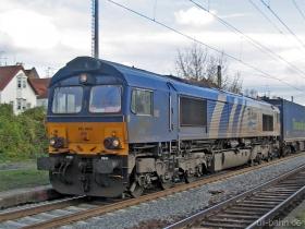 ERS | Class 66 | 6608 | Wiesbaden Biebrich | 22.11.2006 | (c) Uli Kutting