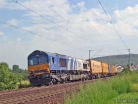 ERS | Class 66 | 6609 | Gau-Algesheim | 7.09.2006 | (c) Uli Kutting