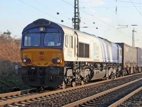 ERS | Class 66 | 6611 | Gau-Algesheim | 8.03.2007 | (c) Uli Kutting