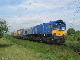 ERS | Class 66 | 6613 | Gau-Algesheim | 3.08.2006 | (c) Uli Kutting