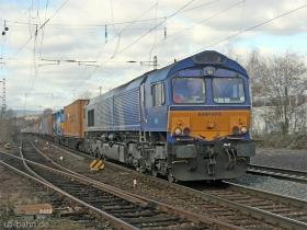 ERS | Class 66 | 6613 | Wiesbaden Biebrich | 15.02.2007 | (c) Uli Kutting