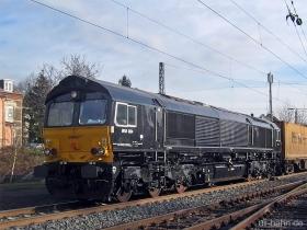 MRCE / ERSR | Class 66 | 6614 | Wiesbaden Biebrich | 10.01.2007 | (c) Uli Kutting