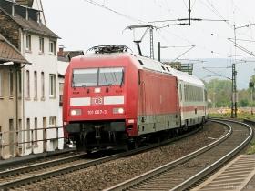 DB AG | 101 007-3 | Oberlahnstein | 28.04.2017 | (c) Uli Kutting
