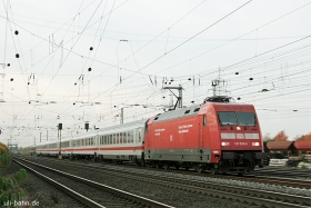 DB AG | 101 020-6 | Koblenz-Lützel | 30.10.2015 | (c) Uli Kutting
