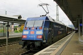 "DB AG | 101 042-0 | Werbelok ""ECO-PHANT"" | Koblenz Hbf | 16.10.2015 | (c) Uli Kutting"