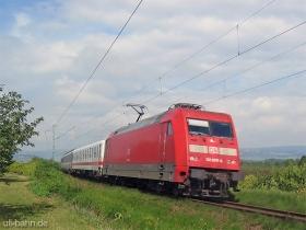 DB AG | 101 078-4 | Gau-Algesheim | 3.08.2006 | (c) Uli Kutting