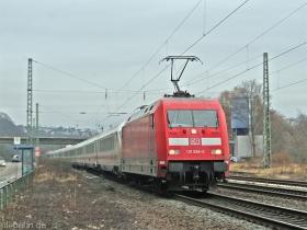 DB AG |101 099-0 | Koblenz-Königsbach | 10.01.2008 | (c) Uli Kutting